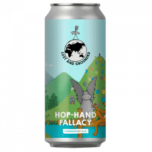 Lost And Grounded Hop-Hand Fallacy Farmhouse