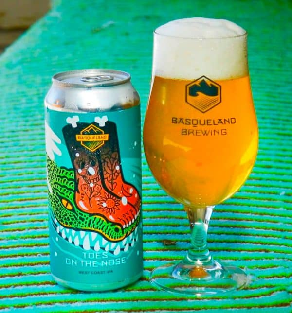 Basqueland Toes On the NoseWest Coast IPA