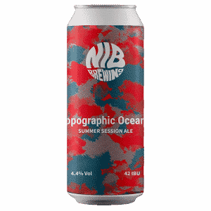 NIB Brewing Topographic Oceans Session IPA